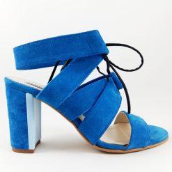 Summer Love - Blue - Sandale piele naturala