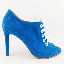 Elise - Blue - Botina Sanda piele naturala