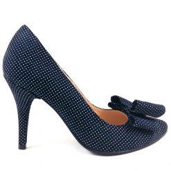 Blue Dots - Pantofi piele naturala