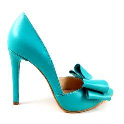 Distinct - Turquoise- Pantofi piele naturala
