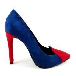 Princess - Pantofi stiletto piele naturala