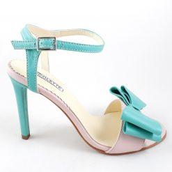 Amelie - pastel - Sandale piele naturala