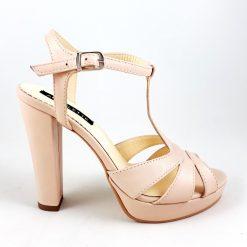 Delight - nude - sandale piele naturala