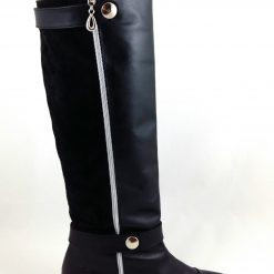 Zipp & Walk Boots - Cizme piele naturala
