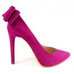 Allure - Fuchsia Love - Pantofi piele naturala