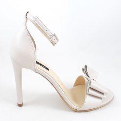 Eve - Sandale mireasa - ivory - piele naturala