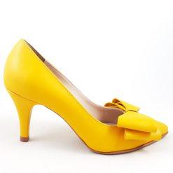 Kittens - Pantofi toc mic - piele naturala