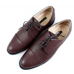 Pantofi barbati - maro inchis - piele naturala