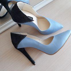 Charm - Serenity Blue - Pantofi piele naturala