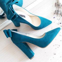 Allure - toc gros - Pantofi piele naturala
