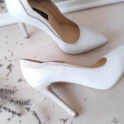 Pearl - pantofi mireasa - piele naturala