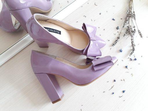 Distinct - Mov Lavanda - Pantofi piele naturala