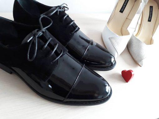 Pantofi El & Ea - pantofi cuplu - pantofi barbati - piele naturala