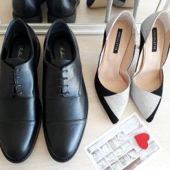 Pantofi El & Ea - pantofi cuplu - pantofi asortati - piele naturala