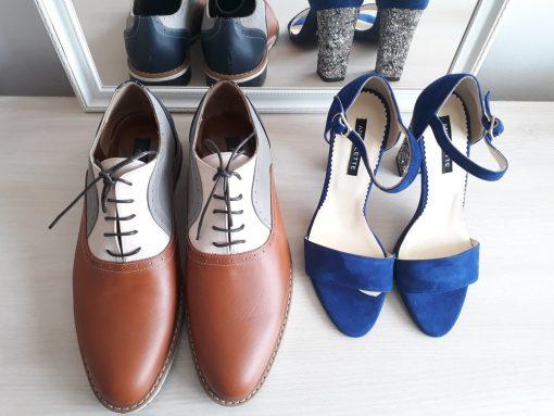 Pantofi El & Ea - pantofi cuplu - pantofi barbati oxford- piele naturala
